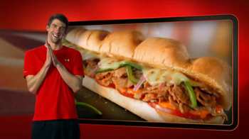 Subway Sriracha Chicken Melt TV Spot Feat. Michael Phelps, Pele - Thumbnail 10
