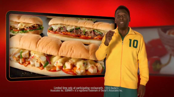 Subway Sriracha Chicken Melt TV Spot Feat. Michael Phelps, Pele - 109 commercial airings