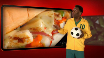 Subway Sriracha Chicken Melt TV Spot Feat. Michael Phelps, Pele - Thumbnail 8