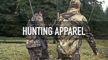 Dick's Sporting Goods TV Spot, 'Hunting Apparel'