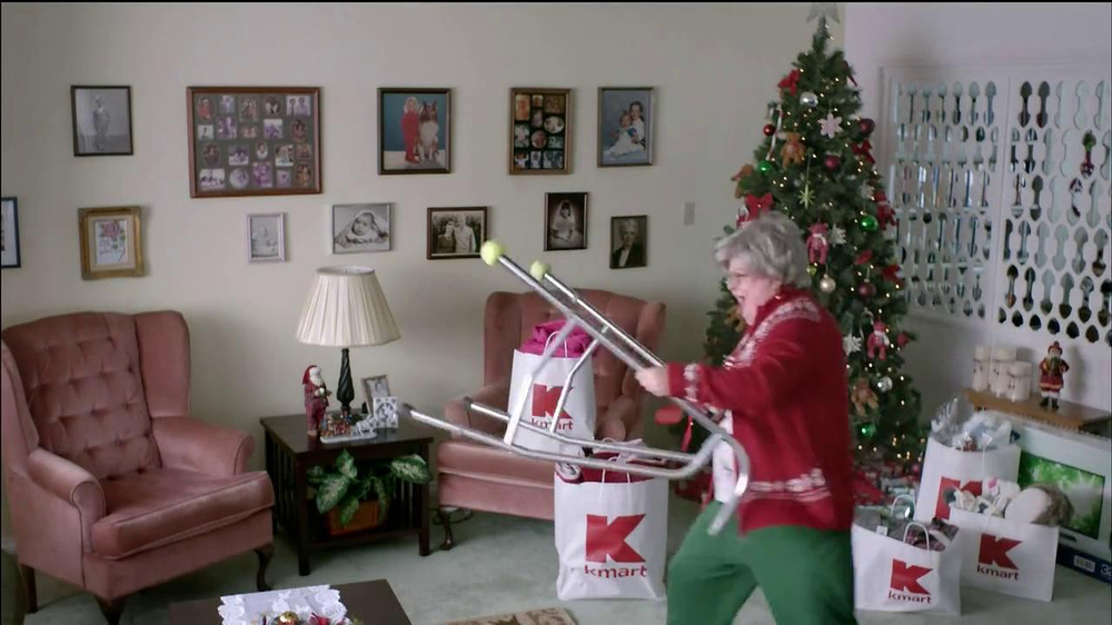 Kmart TV Commercial, \'Grandma\' - iSpot.tv