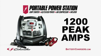 Schumacher Portable Power Station TV Spot, 'Dead Battery' - Thumbnail 4