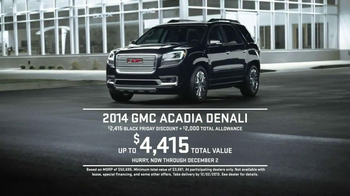 GMC Black Friday Sales Event TV Spot, 'Sleep' - Thumbnail 10