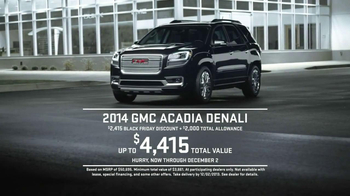 GMC Black Friday Sales Event TV Spot, 'Sleep' - Thumbnail 9