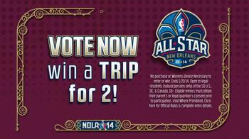 NBA All-Star Game TV Spot, 'Vote Now' - Thumbnail 9