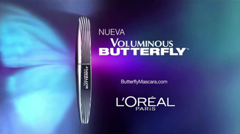 L'Oreal Paris Voluminous Butterfly Mascara TV Spot [Spanish] - Thumbnail 7