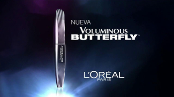 L'Oreal Paris Voluminous Butterfly Mascara TV Spot [Spanish] - Thumbnail 1