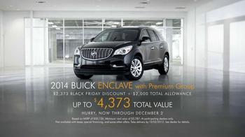 Buick Black Friday Sales Event TV Spot, 'Black Eye' - Thumbnail 8