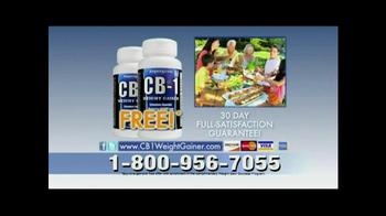 CB-1 Weight Gainer TV Spot, 'Natural Weight Gain' - Thumbnail 10