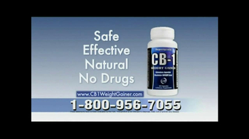 CB-1 Weight Gainer TV Spot, 'Natural Weight Gain' - Thumbnail 8