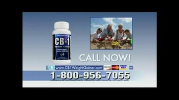 CB-1 Weight Gainer TV Spot, 'Natural Weight Gain' - Thumbnail 9