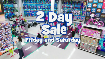 Toys R Us 2-Day Sale TV Spot , 'Bikes'