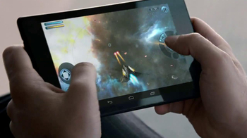Google Nexus Tablet TV Spot, 'Get in the Game' - Thumbnail 5