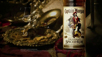 Captain Morgan TV Spot, 'Hidden Treasure' - 312 commercial airings