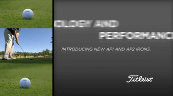 Titleist AP Irons TV Spot Featuring Zach Johnson, Jason Dufner - Thumbnail 1