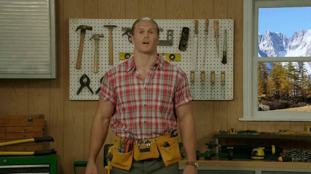 Fathead TV Commercial, 'Most Trusted Handyman' Feat. Clay Matthews