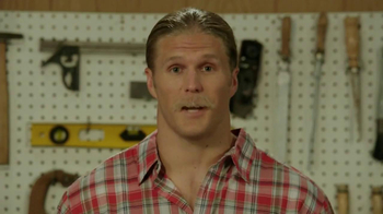 Fathead TV Spot, 'Most Trusted Handyman' Feat. Clay Matthews - Thumbnail 3
