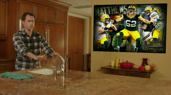 Fathead TV Spot, 'Most Trusted Handyman' Feat. Clay Matthews - Thumbnail 7