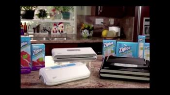 Ziploc Vacuum Sealer TV Spot - Thumbnail 7