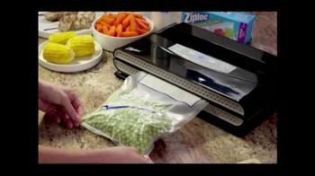 Ziploc Vacuum Sealer TV Spot