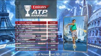 Emirates ATP Rankings TV Spot - Thumbnail 10