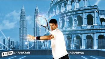 Emirates ATP Rankings TV Spot - Thumbnail 7