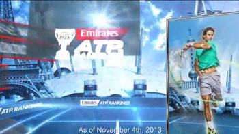 Emirates ATP Rankings TV Spot - Thumbnail 9