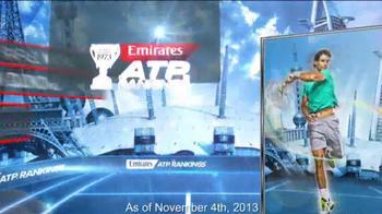 ATP World Tour TV Spot, 'Emirates ATP Rankings' - Thumbnail 9