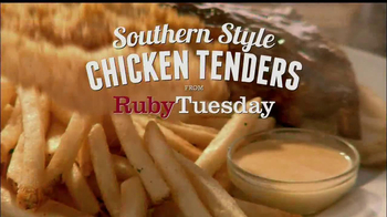 Ruby Tuesday Southern Style Chicken Tenders TV Spot, 'Gift Card' - Thumbnail 1