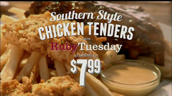 Ruby Tuesday Southern Style Chicken Tenders TV Spot, 'Gift Card' - Thumbnail 3