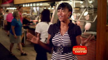 Golden Corral Thanksgiving Day Buffet TV Spot, 'New Traditions' - Thumbnail 4