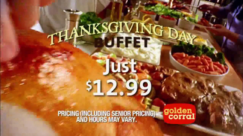 Golden Corral Thanksgiving Day Buffet TV Spot, \'New Traditions\'