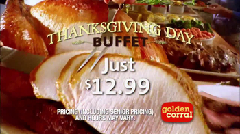 Golden Corral Thanksgiving Day Buffet TV Spot, 'New Traditions' - Thumbnail 6