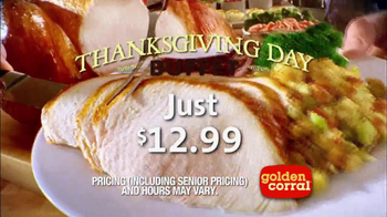 Golden Corral Thanksgiving Day Buffet TV Spot, 'New Traditions' - Thumbnail 7