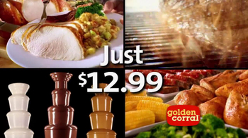 Golden Corral Thanksgiving Day Buffet TV Spot, 'New Traditions' - Thumbnail 9