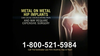 Goldwater Law Firm TV Spot, 'Hip Replacement' - Thumbnail 4