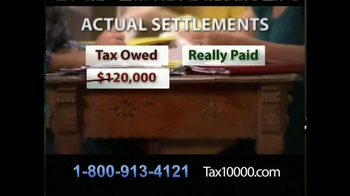 TAX10000 TV Spot, 'Negotiated Tax Settlements' - Thumbnail 5