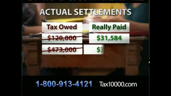 TAX10000 TV Spot, 'Negotiated Tax Settlements' - Thumbnail 6