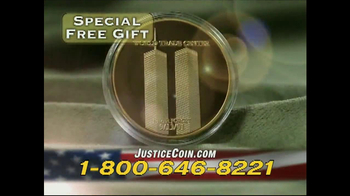 Historic Coin Mint TV Spot, 'Justice Done Coin' - Thumbnail 8