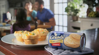 Pillsbury Grands! Flaky Layers TV Spot, 'Reinvent the Chicken Dinner' - Thumbnail 10