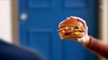 Wendy's Bacon Portabella Melt on Brioche TV Spot, 'Peep Hole'