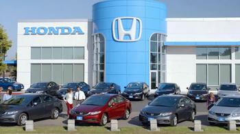 2013 Honda Civic LX Sedan TV Spot, 'Snow is Gonna Blow' Ft. Michael Bolton - Thumbnail 1