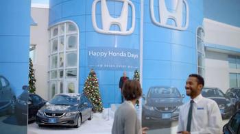 2013 Honda Civic LX Sedan TV Spot, 'Snow is Gonna Blow' Ft. Michael Bolton - Thumbnail 3