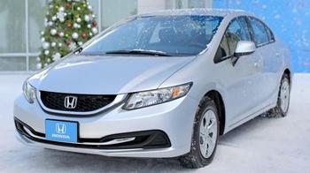 2013 Honda Civic LX Sedan TV Spot, 'Snow is Gonna Blow' Ft. Michael Bolton - Thumbnail 8