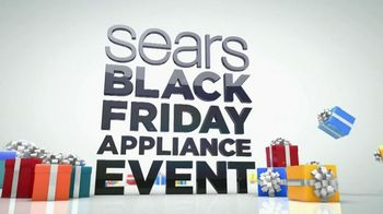Sears Black Friday Appliance Event TV Spot