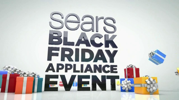 Sears Black Friday Appliance Event TV Spot