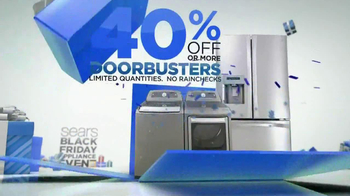 Sears Black Friday Appliance Event TV Spot - Thumbnail 2