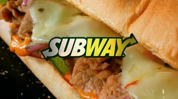 Subway Sriracha Chicken Melt TV Spot, 'The Hunger Games' - Thumbnail 4