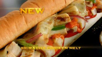Subway Sriracha Chicken Melt TV Spot, 'The Hunger Games' - Thumbnail 6