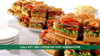 Subway To Go TV Spot, 'Catering' - Thumbnail 10